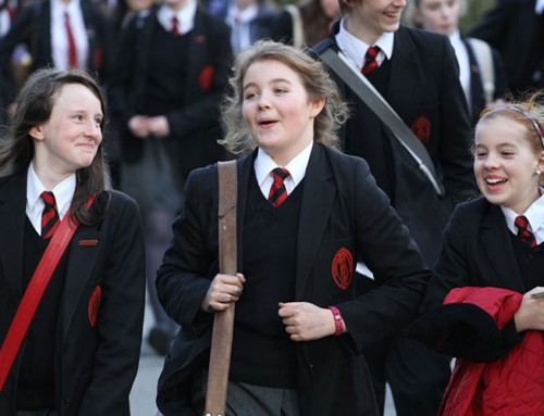 Kitz school uniforms are a hit in Worcester