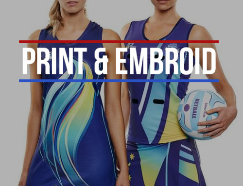The Benefits of Print and Embroidery